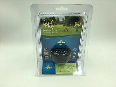 PetSafe Stay + Play Wireless Fence Receiver Collar - Black (PIF00-14288)
