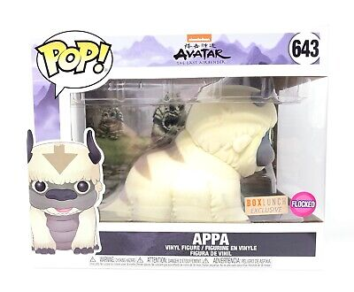 Funko Pop! Appa (Flocked) Avatar the Last Airbender #643 BoxLunch Exclusive NM