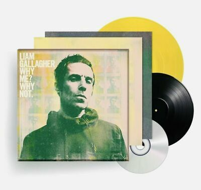 "LIAM GALLAGHER Why Me? Why Not. VINYL BOX SET LP,CD,7"",BOOK. Fan Club Edition"