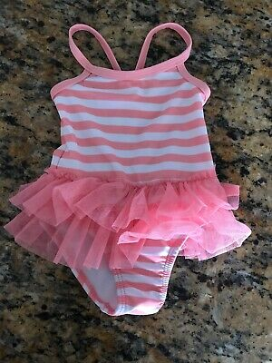 Calypso St Barth Swimsuit Lime Green Swim Suit Baby 2 PC Skirt Gathers Target