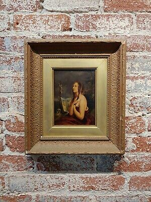 After William Etty -Penitent Magdalene -18th/19th century Oil painting on board
