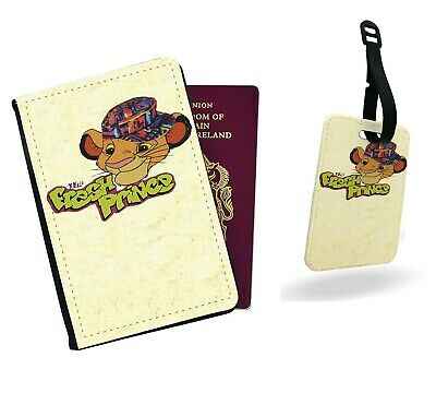 Simba Funny Wierd Face Lion King Disney Floral Passport Wallet Card Holder Boarding Pass Travel Protection Flip Cover Case with Elastic Accessories Luggage