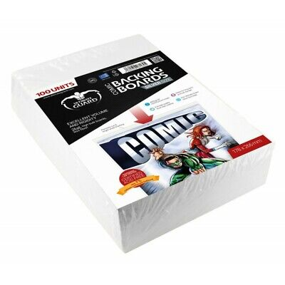 Golden Size Protects Comic 100 Backing Boards Sharpener Silver 178x266 mm New