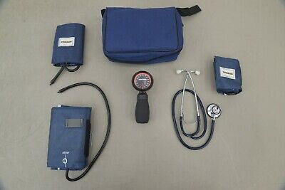 New DynaMed Sphygmomanometer Blood Pressure Cuff Set w/ Stethoscope (19845 B12)