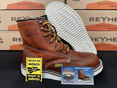 """Men's Padilla 6"""" Safety Oil & Slip Resistant Redwing Style Leather Work Boots"""
