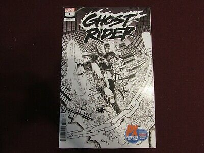 Ghost Rider #1 NYCC 2019 Exclusive Sketch Variant (2019)