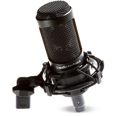 Audio Technica AT2020 Cardioid Condenser Microphone Brand New