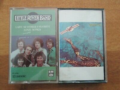 2 Cassettes Little River Band - Greatest Hits/Lady & Other Favorite   BIN 1.50