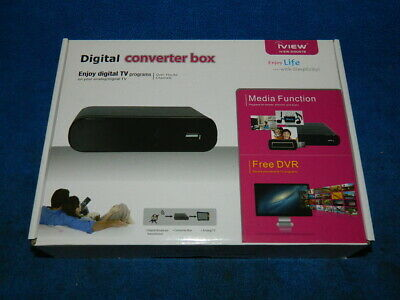 iView 3100STB Digital Converter Box - New