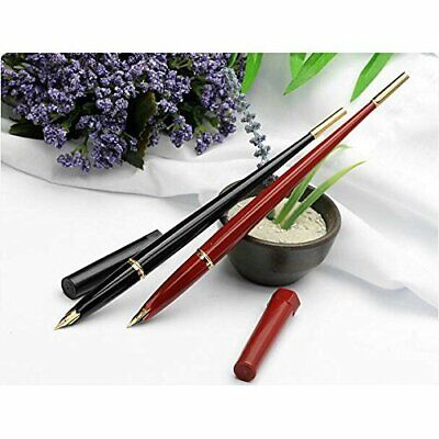 Platinum black Nian brush Desk Pen fountain pen calligraphy fine print DP-1000A