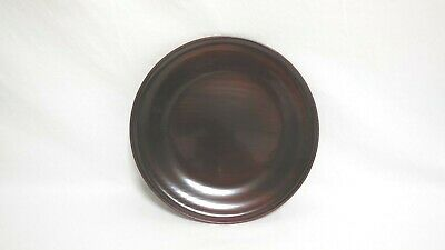 Tea Ceremony Japanese lacquerware Circle tray By Kinsai Maehata Famous Painter