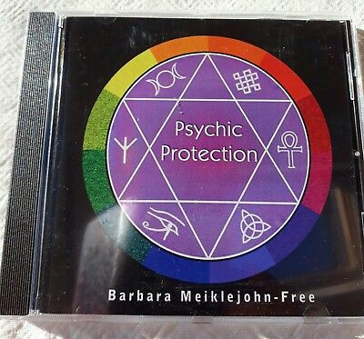 Barbara Meiklejohn-Free Psychic Protection Audio CD Spiritual New Age