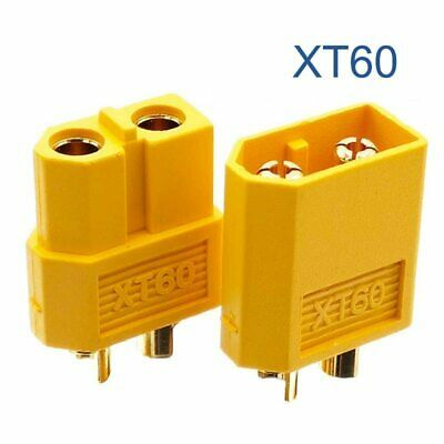 10pcs / 5pairs XT60 XT-60 Male Female Connectors Plugs For RC Lipo Battery