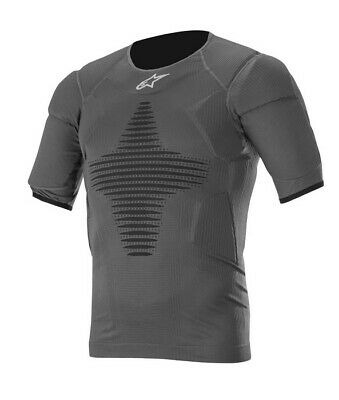 Alpinestars ROOST BASE LAYER TOP Anthracite/Black Breathable and Stretchable