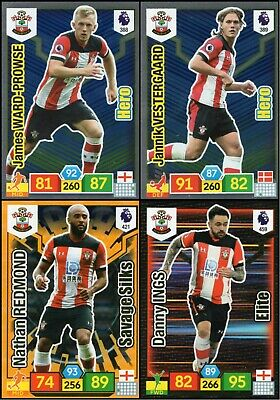 Panini Adrenalyn Xl Premier League 2019/20 Southampton 4 Special Insert Cards