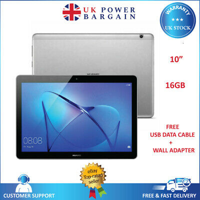 """HUAWEI MediaPad T3 10 9.6"""" Tablet - 16 GB Space Grey RAM 2GB- Android Tablet"""