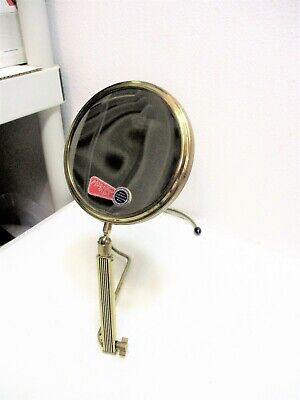 Vtg  Makeup Magnification Mirror Hang Around Neck or Self Standing Double Sided