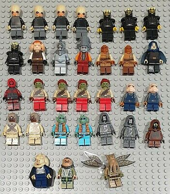 Genuine Lego Star Wars Jedi Sith Minifigures VGC great stocking fillers Free P&P