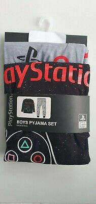 Primark Playstation Official PS4 long sleeve pyjamas set christmas 6-14 years