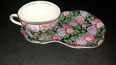 old foley james kent porcellana inglese england tazza +piattino piatto colazione