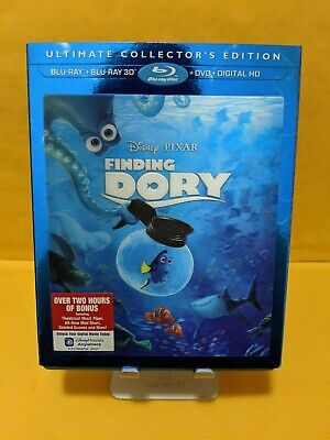 Finding Dory [BLURAY+DVD DISCS ONLY!!!] [NO DIGITAL, NO 3D BLURAY] W/SLIPCOVER