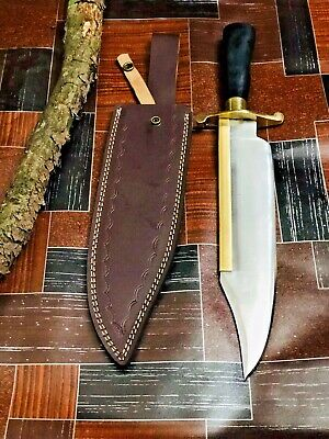 "MH Knives 18"" 5160 Spring Steel Handmade Knife Alamo Musso Bowie MH-20"