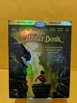The Jungle Book [BLURAY DISC ONLY!!!] [NO DIGITAL OR DVD] W/SLIPCOVER