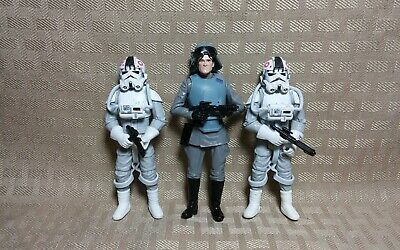 Hasbro Star Wars Figure Lot Imperial Officer General Veers + AT-AT Driver(s)