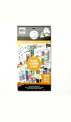 Lot of 2 The Happy Planner Seasonal 876 Piece Sticker Book by me & my Big Ideas