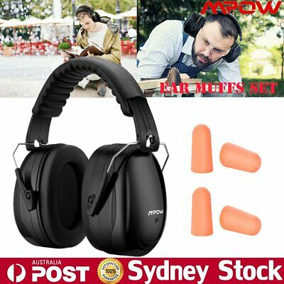 Mpow Ear Muffs Noise Reduction Cancelling Hearing Protection Shooting Hunting AU