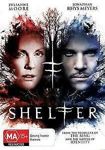 Shelter (DVD, 2012) Brand New Sealed R 2&4 Julianne Moore