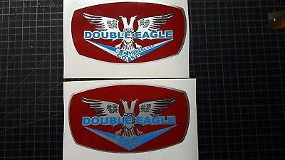 Double Eagle Old Style Boat Decals Replacement Decals set of 2