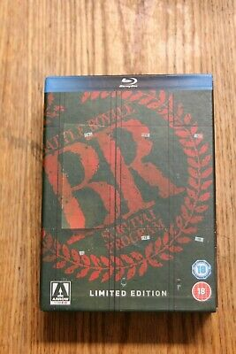 Battle Royale Limited Edition Blu-ray 3-Disc Set Rare & Out of Print OOP