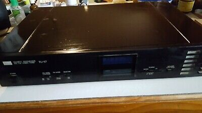 Sansui TU-S7 Quartz Synthesizer AM/FM Stereo Tuner