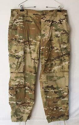 ARMY OCP SCORPION W2 MULTICAM  PANTS TROUSERS COMBAT Large Short used