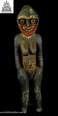 Powerful Female Kwoma Nogwi Figure, Washkuk, PNG, Papua New Guinea, Oceanic