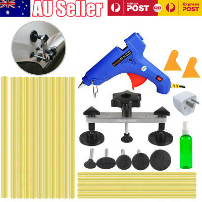 PDR Paintless Hail Removal Dent Puller Bridge Glue Gun Sticks Auto Body Repair