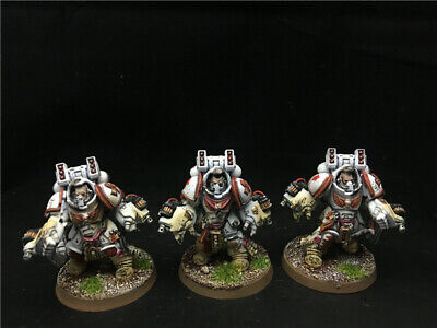 25mm Warhammer 40K DPS painted Space Marines Primaris Aggressors AP8557