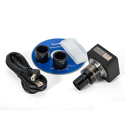 SWIFTCAM 3MP Digital USB 2.0 Microscope Camera with Software and Reduction Lens