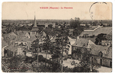 CPA 53 - VAIGES (Mayenne) - Le Panorama