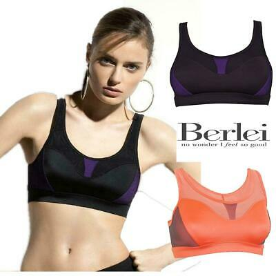 Berlei Sport Fit Crop Top Sports Bra B4910 No Wired Medium Impact Gym Sports Bra