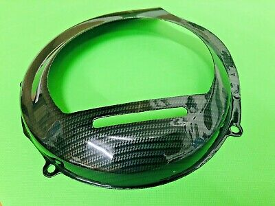 Vespa Carbon Flywheel Cover Fits Vespa 125 Vnt - Vna - Vnb - Vbb - Super