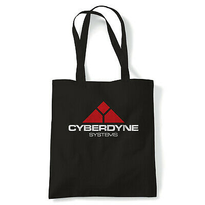 Cyberdyne Systems Terminator Movie Inspired, Tote Reusable Shopping Canvas Bag