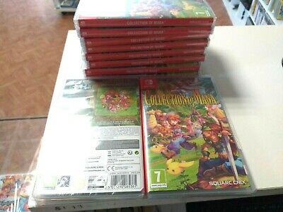 NINTENDO SWITCH - collection of mana - NEW/SEALED - Français/English Version