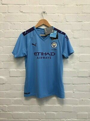 PUMA Manchester City FC Women's 2019/20 Home Shirt - Large - Houghton 6 - New