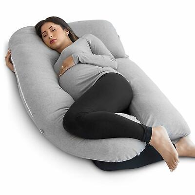 U-Shaped Pillow Total Body Comfort for Pregnancy Maternity Extra filled 9ft