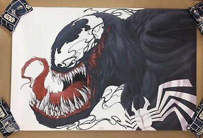 MONDO VENOM Screen Print Poster #299/325 by Randy Ortiz Marvel Spider-Man
