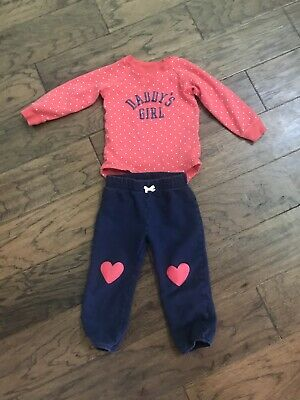 Toddler Girl Two Piece Outfit Set Size 24 Months