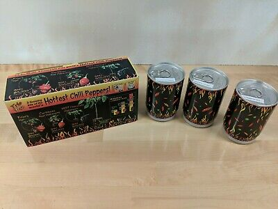 Magic Plant Trio Box Hottest Chili Peppers Growing Kit