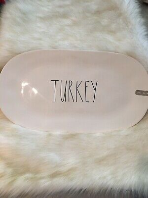 NWOT Rae Dunn THANKSGIVING Serving Platter